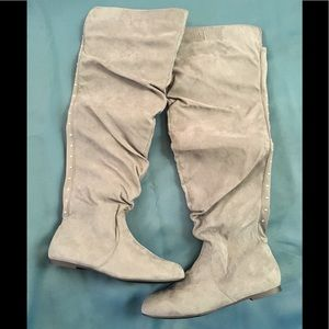 JustFab Tinah over the knee boots